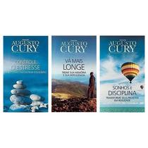 Kit Augusto Cury | 3 Livros Inéditos | Novos