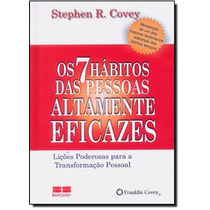 Os 7 Hábitos Das Pessoas Altamente Eficazes Livro Stephen