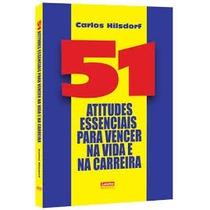 Livro- 51 Atitudes - Carlos Hilsdorf- Bolso-+brinde