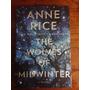 Livro Anne Rice, Autografado, 1ª Edição, Novo, Capa Dura