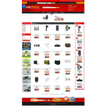 Super Loja Virtual. Scrip Php, 6 Layout Com Banner Automatic