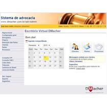 Sistema Para Escritorio De Advogados, Advocacia On Line,