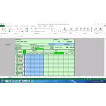 Planilha Cartão De Ponto E Controle De Horas Extras Editável