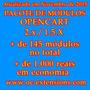 Pacote De Módulos Para Opencart 2.x / 1.5.x - Novembro 2015