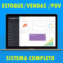 Controle De Estoque E Vendas, Online Script Em Php - Novo