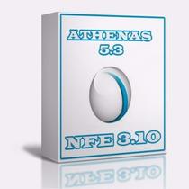 Athenas 5.3 + Nfe 3.10 + Nfce | Sistema Comercial Com Fotes