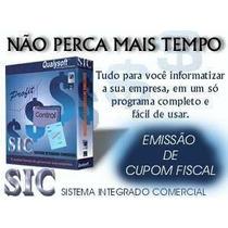 Sic Sistema Integrado Comercial - Frete Grátis Via Download