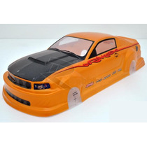 Bolha 1/10 Ford Mustang Gt350 Pvc Analog Painted Rc