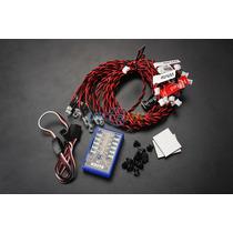 Sistema Iluminação Automodelo Rc Com 12 Led Carro Rc
