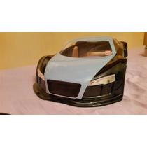 Bolha Audi R8 Para Inferno Gt2 Para Automodelo 1/8 Pintada
