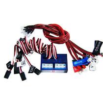 Kit Iluminacao P/carro 12 Leds C/controladora