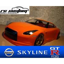 Bolha 1/10 200mm Drift - Nissan R35 - Rc Custom