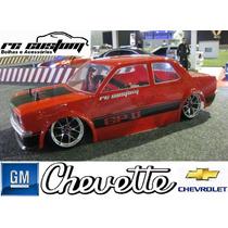 Bolha 1/10 200mm Drift - Chevete 1973 - Tubarão - Rc Custom