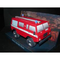 Papel Modelismo 3d - Veículos - Volvo C 303 Fire Pump Truck