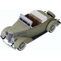 Papel Modelismo 3d - Carros Antigos - Ford Cabriolet