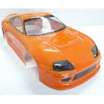 Bolha Pintada Rc Toyota Supra Race Drift Speed On-road 1/10