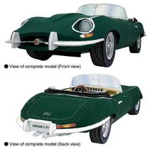 Papel Modelismo 3d - Veículos Antigos - Jaguar E-type