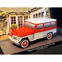 Papel Modelismo 3d - Veículos Antigos - Rural Willis Brasil