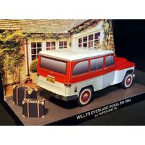 Maquete De Papel 3d - Veículos Antigos - Rural Willis Brasil