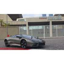 Lamborghini Reventon 1/10 Planeta Deagostini Com Rádio 2.4gz