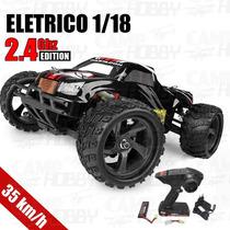 Autmodelo Eletrico Himoto Mastadon 1/18 2.4ghz Monster Truck