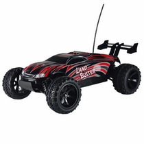 Carro New Nqd Land Buster 4wd 1/12 2.4ghz Off-road Vermelho