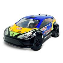 Automodelo Rally Car Rc Elétrico 1/18 New Fiesta - Completo