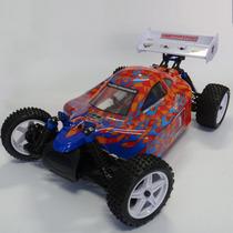 Automodelo Himoto Zmoto 3 Buggy 1/10 2.ghz Elétrico 4x4 Rc