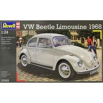 Fusca 68 - Beetle - Revel Kit 1/24 P Montar - Plastimodelism