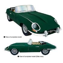 Maquete De Papel 3d - Veículos Antigos - Jaguar E-type