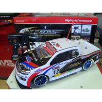 Automodelo Elétrico Pick Up Nascar Drift 4x4 Escala 1/10