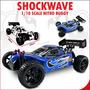 Automodelo Redcat Shockwave 2.67. A Combustão, Todo Completo