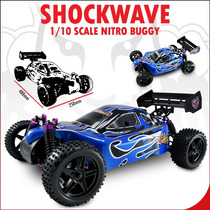 Automodelo Redcat Shockwave 2.67. A Combustão, Todo Completo