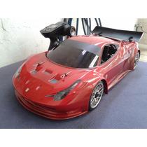 Automodelo Kyosho Inferno Gt2 1/8 Bolha Ferrari Ou Aston