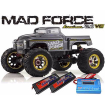 Automodelo Kyosho Mad Force 2.0 Ve 1/8 Bateria + Carregador