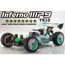 Novo Automodelo Kyosho Inferno Mp9 Tki3 Nitro Rtr 1/8 4x4