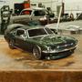 Carro Vaterra Ford Mustang 1967 V100-s 1/10 2.4ghz Rtr 03017