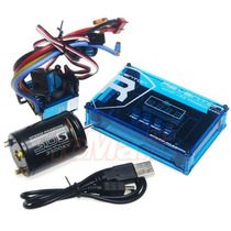 Kit Combo Motor Esc Speedpassion Brushless Traxxas Velineon