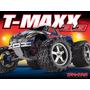 Traxxas T-maxx 3.3 Com Rádio Tqi 2.4ghz (vermelha) -trx 4907