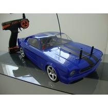 Automodelo Traxxas Nitro 4tec 3.3 Mustang Excelente Estado.