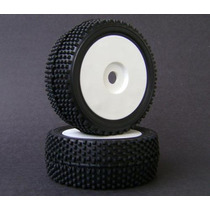 Rodas/pneus Montado P/ Off Road - Escala 1/8 - Eixo 17mm
