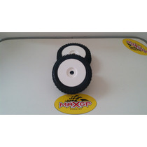 Rodas Com Pneus Off Road Para Buggy 1/8 - Sextavado 17mm