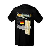 Camiseta P-51, P-47, Aeros Fino Acabamento - Vários Modelos