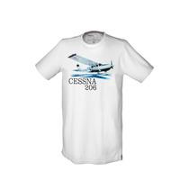 Camiseta Cessna, P-51, P47 - Fino Acabamento - Maxgp Hobbies
