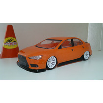 Bolha Pintada Lancer 1/10 On-road 200mm Larg - Maxgp Hobbies