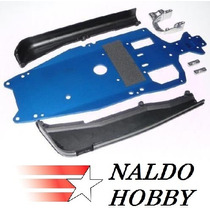 Traxxas 5522 Jato 3.3 *chassis & Side Guards* & Engine Mount