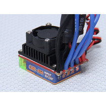 Esc Brushless 45a/120a X-car Sensorless P/ Carros C/ Ré