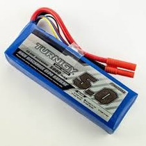 Bateria Lipo Turnigy 3s 20-30c 5000mah 11.1v Auto Aero