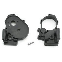 Tra3691a Carcaça Cambio Rustler Bandit Stamped Gearbox Black