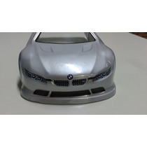 Bolha 1/10 190mm Ep Just Fast Jfm3 Bmw - Pintada Prata